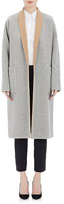 Barneys New York Women's Double-Faced Reversible Coat $1,895 thestylecure.com