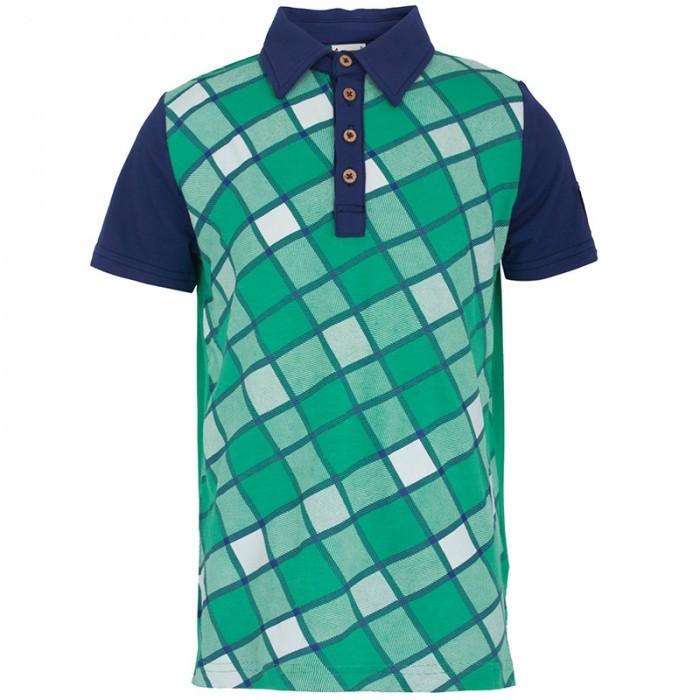 Hudson Fore!! Axel & Green Check Polo
