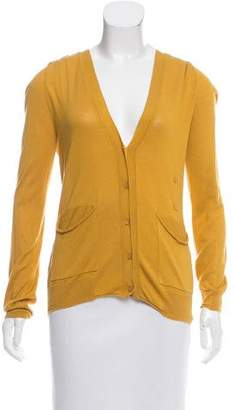 By Malene Birger Silk Long Sleeve Cardigan