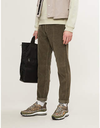 Stone Island Regular-fit straight corduroy trousers