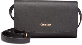Calvin Klein Logan Leather Mini Crossbody