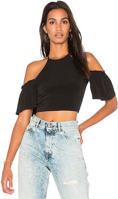 BCBGeneration Off Shoulder Crop Top