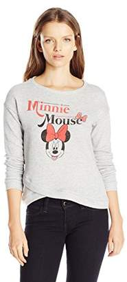 Disney Women's Minnie Mouse Wrapped Sweatshirt $9.90 thestylecure.com