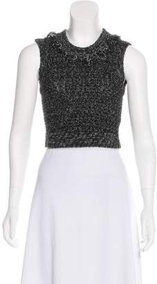 Jonathan Simkhai Rib Knit Sleeveless Top