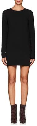 Saint Laurent Women's Crepe Mini-Shift Dress