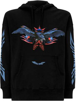 Givenchy Eagle Hooded Sweater