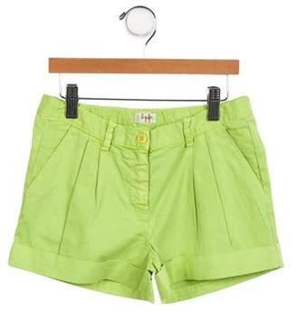 Il Gufo Girls' Mini Shorts