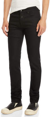 Marcelo Burlon County of Milan Black Elan Slim-Fit Jeans