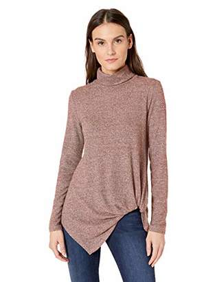Karen Kane Women's Turtleneck Pick-UP TOP