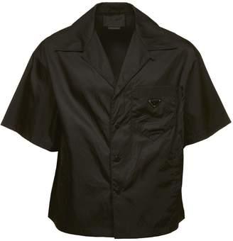 Prada Linea Rossa Cropped Shirt