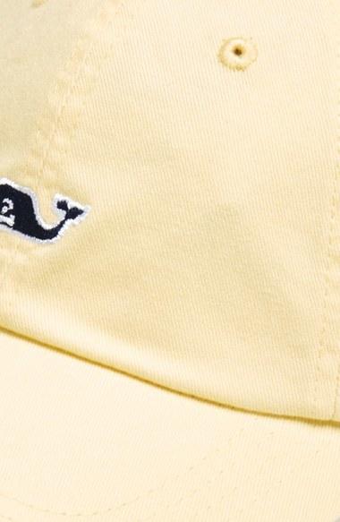 Men's Vineyard Vines Whale Logo Cap - Beige 2