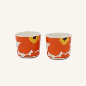 Marimekko (マリメッコ) - marimekko Unikko コーヒーカップセット(ハンドルなし)