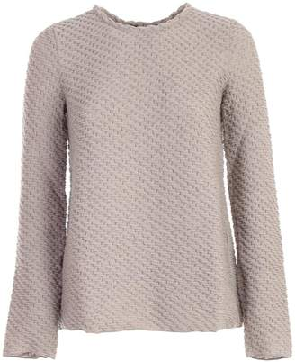 Emporio Armani Interlace Knit Sweater