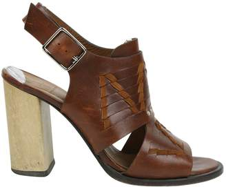 Thakoon Brown Leather Heels