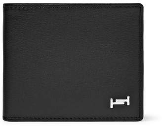 Tod's Textured-Leather Billfold Wallet - Black