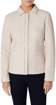 David Lawrence Victoria Pocket Front Felted Wool Jacket