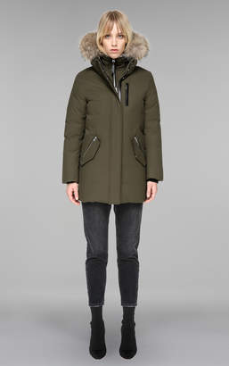 Mackage MARLA MID LENGTH WINTER DOWN COAT WITH FUR