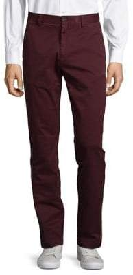 Brooks Brothers Red Fleece Plum Chino Pants