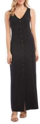 Karen Kane Button-Up Alana Maxi Dress