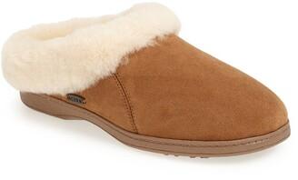 Acorn 'Ewe Collar' Genuine Sheepskin Mule Slipper