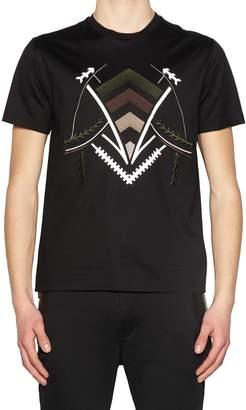Les Hommes 'tribal' T-shirt
