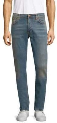 Nudie Jeans Lean Faded Slim Jeans