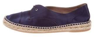 Tabitha Simmons Satin Espadrille Sneakers
