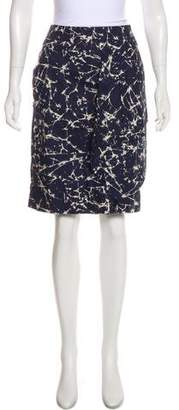 Michael Kors Printed Mini Skirt