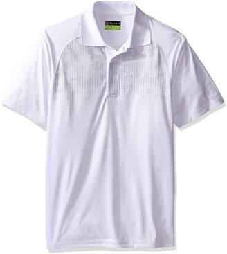 PGA TOUR Men's Short Sleeve Pro Series Pixelated Camo Print Polo