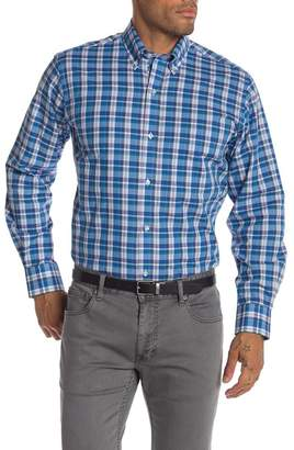 Tailorbyrd Plaid Long Sleeve Classic Fit Shirt