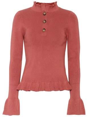 Cotton blend sweater