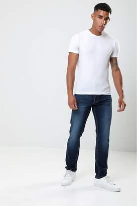 Next Mens Threadbare Straight Rinse Wash Jeans