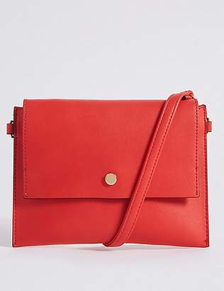 M&S Collection Faux Leather Belt Cross Body Bag