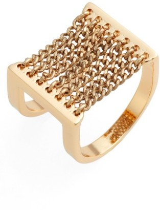 Women's Jenny Bird Canopy Adjustable Ring $85 thestylecure.com