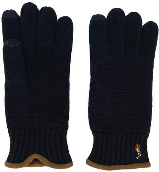 Polo Ralph Lauren knitted touch screen gloves