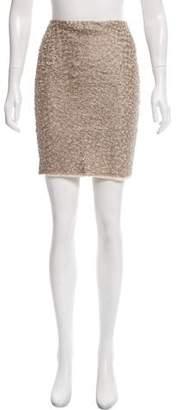 Anna Molinari Embroidered Mini Skirt