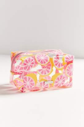 Skinnydip Glitter Grapefruit Makeup Bag
