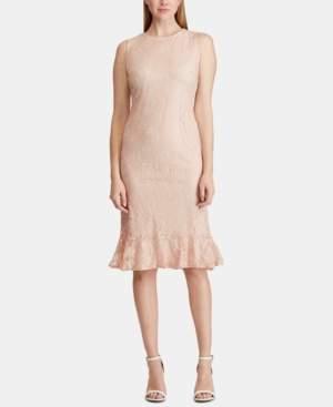 American Living Lace Sleeveless Dress