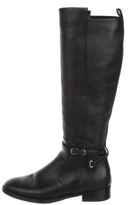 7849939c593 Balenciaga Leather Flat Boots