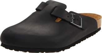 Birkenstock Boston Clogs Size: 3 (36 Euro). Colour: Black. Smooth leather unisex clog.