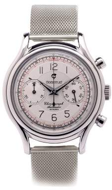 Momentum Men's 1M-CD78S0 Lugano Chronograph Steel Mesh Watch