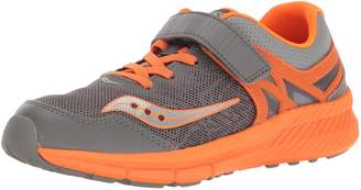Saucony Kids Velocity A/C Running Shoes, Pink/Coral