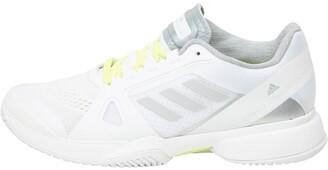 adidas Womens Stella McCartney Barricade 2017 Tennis Shoes White/University/Solar Yellow