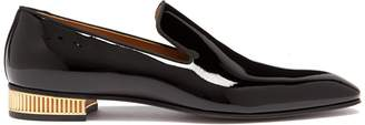 Christian Louboutin Colonnaki patent leather loafers