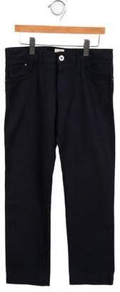 Armani Junior Boys' Mid-Rise Straight-Leg Pants