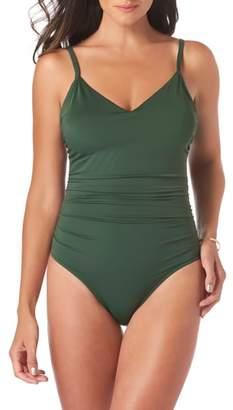 Magicsuit R) Mikki Solid One Piece Swimsuit