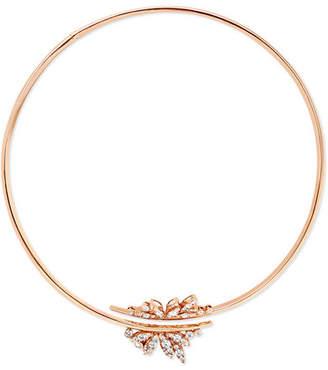 Stephen Webster + Hearts On Fire 18-karat Rose Gold Diamond Necklace - one size