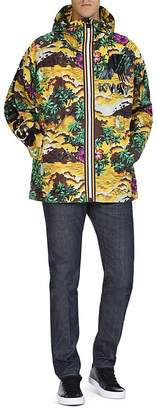 DSQUARED2 x K-Way Tropical Hooded Jacket