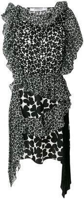 Givenchy asymmetric patterned dress