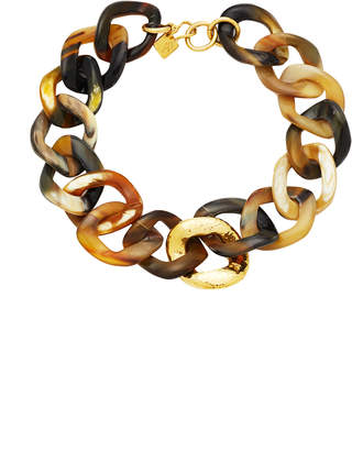 Ashley Pittman Safu Horn Chain Necklace